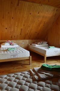 A bed or beds in a room at Beibuki