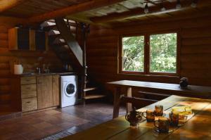 A kitchen or kitchenette at Beibuki