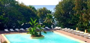 The swimming pool at or near Villaggio Dei Fiori