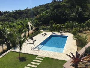 A view of the pool at Paraty or nearby