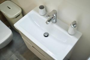 Łazienka w obiekcie Apartament - Jacuzzi