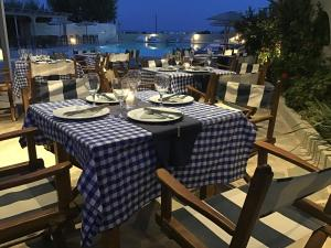 A restaurant or other place to eat at Thera Mare Resort & Open air Spa