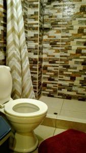 A bathroom at B&B Chayana Wasi