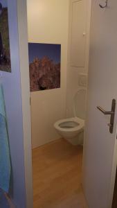A bathroom at Berggasthaus Hospiz