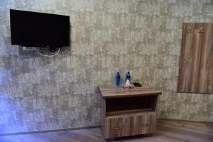 A television and/or entertainment center at Belveder Eco Resort