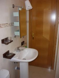 Un baño de MALAMA Apartamentos Turísticos
