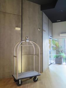 The fitness center and/or fitness facilities at Hotel Tayko Bilbao