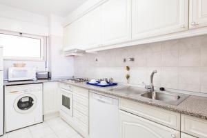 A cozinha ou kitchenette de Jardim do Vau