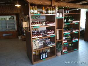 Supermercato o altri negozi dell'agriturismo o nelle vicinanze