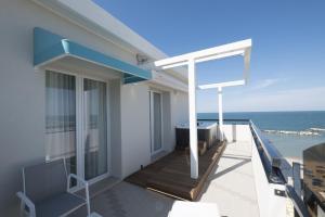 Balcone o terrazza di Hotel Baia