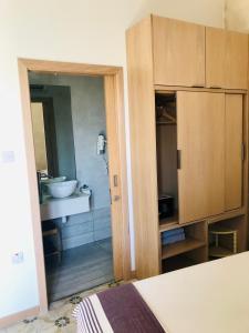 Ein Badezimmer in der Unterkunft Nelli's B&B