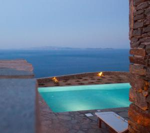 The swimming pool at or close to Astarte Luxury Apartments