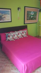 Cama ou camas em um quarto em Terrakota Apartments