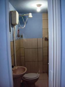 A bathroom at Suíte na Serra