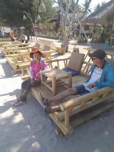 Children staying at Solabose Cottages