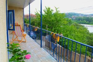 A balcony or terrace at Lanas Home