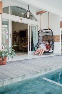 The swimming pool at or near Pesona Beach Resort & Spa