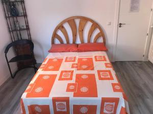 Ένα ή περισσότερα κρεβάτια σε δωμάτιο στο Like at home