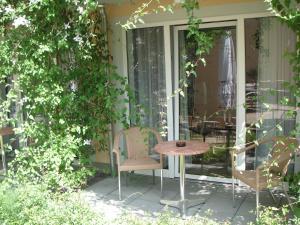 Ein Patio oder anderer Außenbereich in der Unterkunft Apparthotel STEIGER Bad Schandau