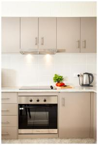 A kitchen or kitchenette at Clifton Sands Holiday Units