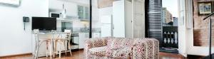 Un lugar para sentarse en La Rozada Suites