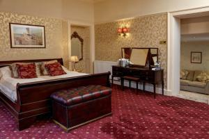 A seating area at Rossett Hall Hotel; BW Signature Collection