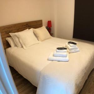 Cama o camas de una habitación en Acougo, tu casa en el Camino de Santiago