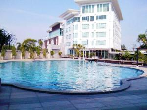 The swimming pool at or near Prajaktra Design Hotel