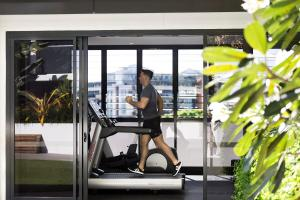 The fitness center and/or fitness facilities at Alcyone Hotel Residences
