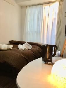 Hirose inn F+にあるベッド