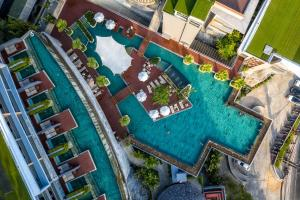 A bird's-eye view of Kalima Resort and Spa