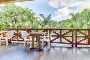 A balcony or terrace at Mahogany Hall