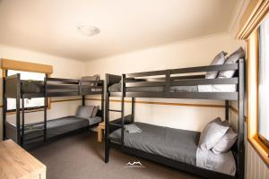 A bunk bed or bunk beds in a room at Cradle Mountain Wilderness Village