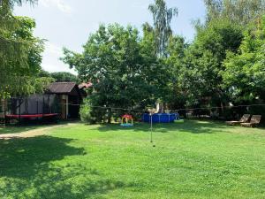 Zahrada ubytování Rybářská Bašta Vikletice - Apartmány a bungalovy - Nechranická přehrada