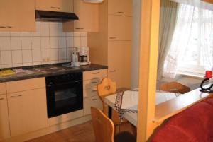 Küche/Küchenzeile in der Unterkunft Gut Dankerode
