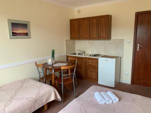 Kuchnia lub aneks kuchenny w obiekcie Apartamenty i Pokoje Magnolia