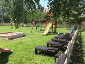Children's play area at Nikolaevsky Hotel