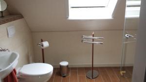 Ein Badezimmer in der Unterkunft Ferienzimmer Bärbel Mehlert