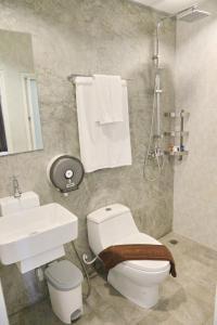 A bathroom at Kata Bai D