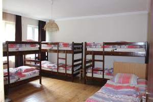 A bunk bed or bunk beds in a room at HQ of Nove Sujashvili