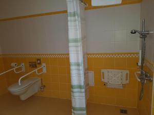 Koupelna v ubytování Hotel U Zeleneho stromu