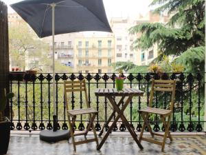 A balcony or terrace at Fabrizzio's Petit