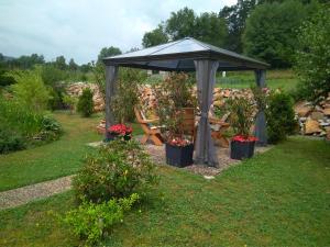 Zahrada ubytování Pension Motel Anna