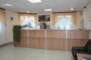 Лобби или стойка регистрации в RUS-отель