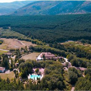 Hostel Grizzly Resort a vista de pájaro