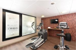 The fitness center and/or fitness facilities at Oceania Saint Malo
