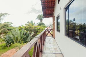 Балкон или терраса в Pousada Ibiapaba