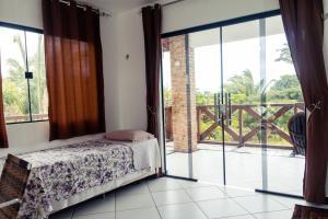 Кровать или кровати в номере Pousada Ibiapaba