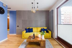 Część wypoczynkowa w obiekcie Motlava Gdansk Apartment