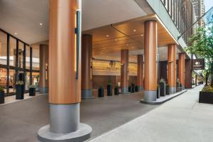 The lobby or reception area at DoubleTree by Hilton Chicago Magnificent Mile